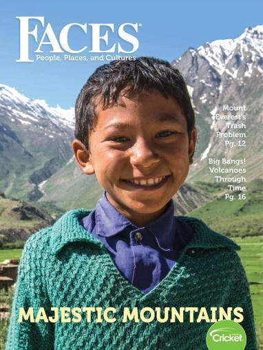 Faces Magazine Cover