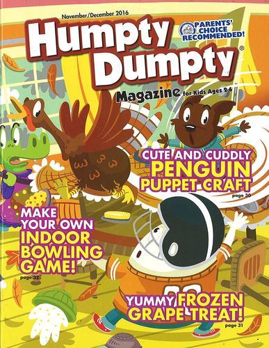 Humpty Dumpty Magazine Cover