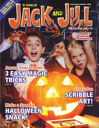Jack & Jill Magazine Cover