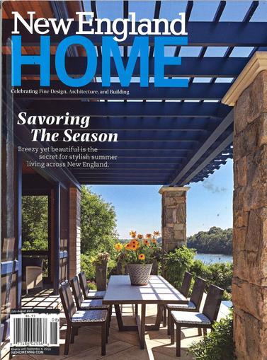 New England Home Magazine Cover