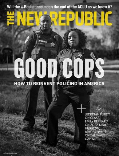 New Republic Magazine Cover