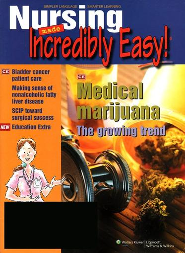 Nursing Made Incredibly Easy! Magazine Cover