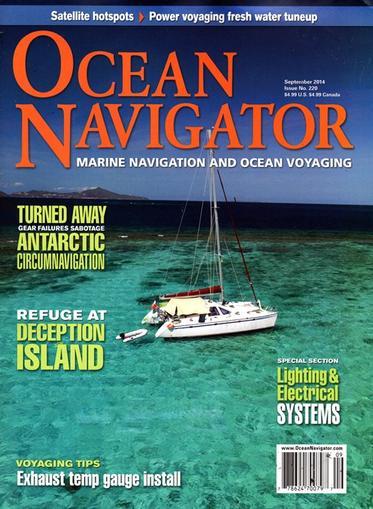 Ocean Navigator Magazine Cover