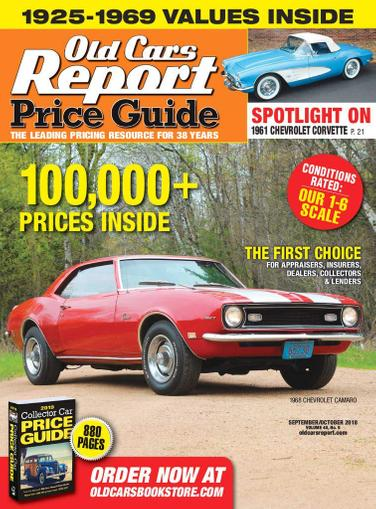 Old Cars Price Guide Magazine Cover
