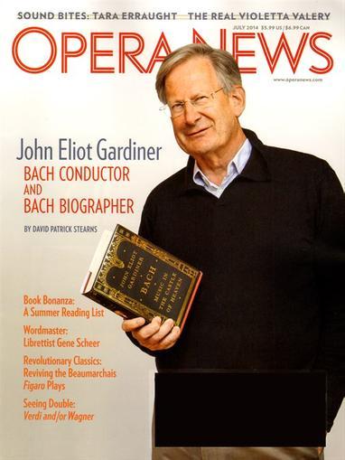 Opera News Magazine Cover