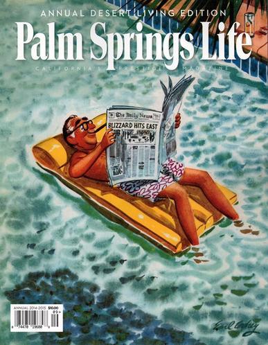 Palm Springs Life Magazine Cover