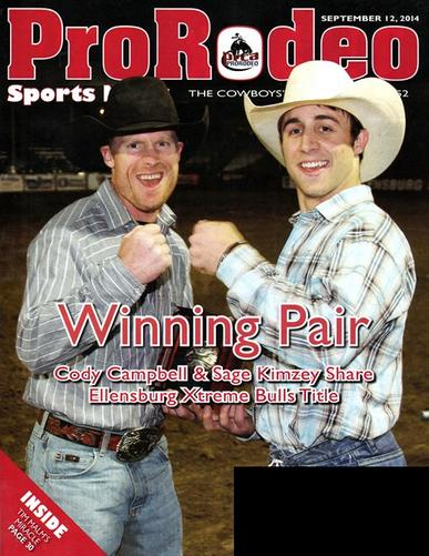 Pro Rodeo Sports News Magazine Cover
