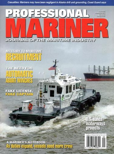 Professional Mariner Magazine Cover