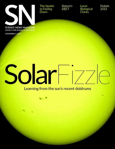 Science News Magazine Cover
