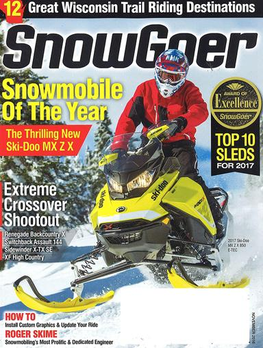 Snow Goer Magazine Cover