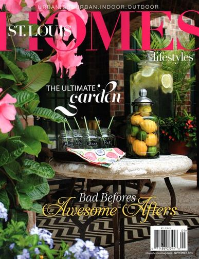St. Louis Homes & Lifestyles Magazine Cover