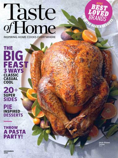 Taste of Home Magazine Cover