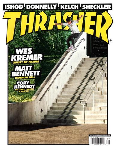 Thrasher Magazine Cover