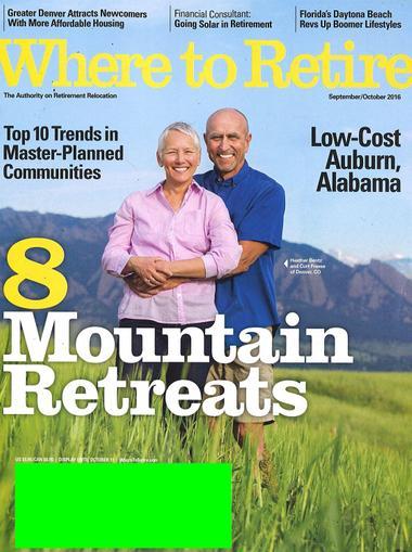 Where to Retire Magazine Cover