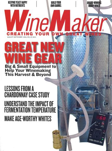 WineMaker Magazine Cover