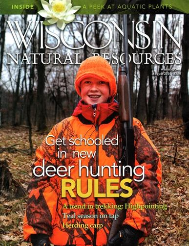 Wisconsin Natural Resources Magazine Cover