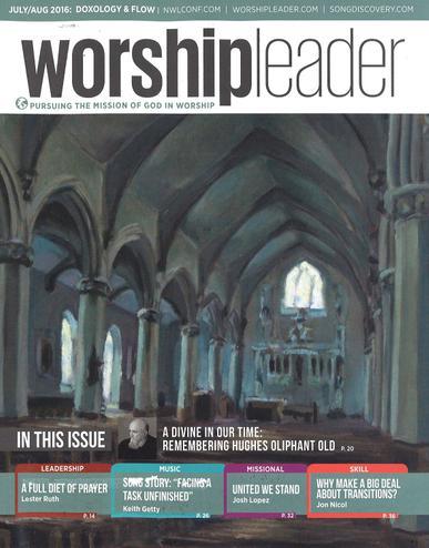 Worship Leader Magazine Cover