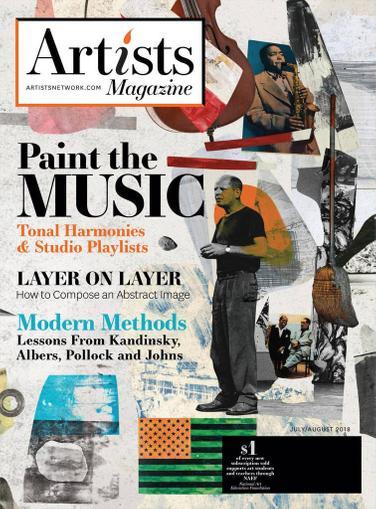 Artist's Magazine Cover