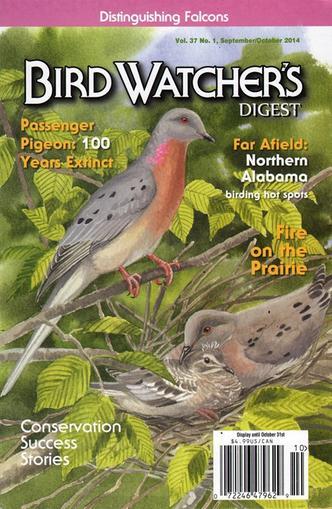 Bird Watcher's Digest Magazine Cover