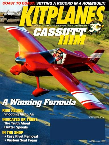 Kit Planes Magazine Cover