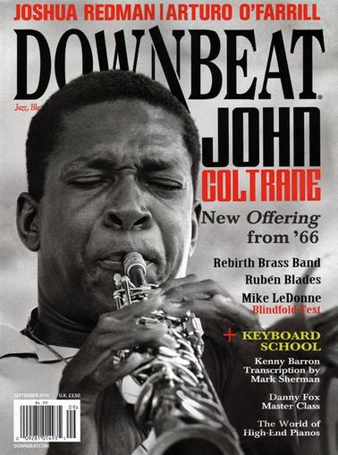 Down Beat Magazine Cover