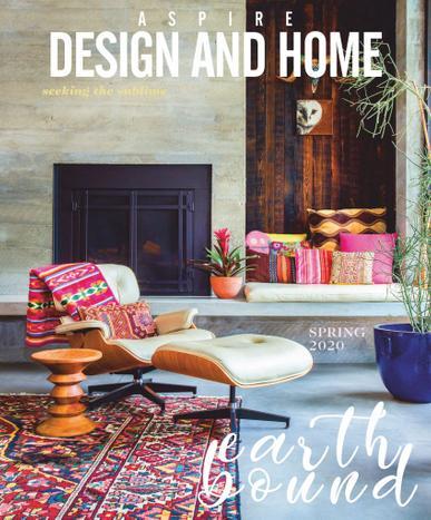 Aspire Design & Home Magazine Cover