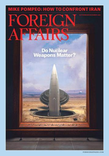 Foreign Affairs Magazine Cover