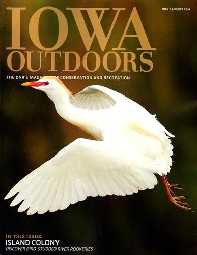 Iowa Outdoors Magazine Cover