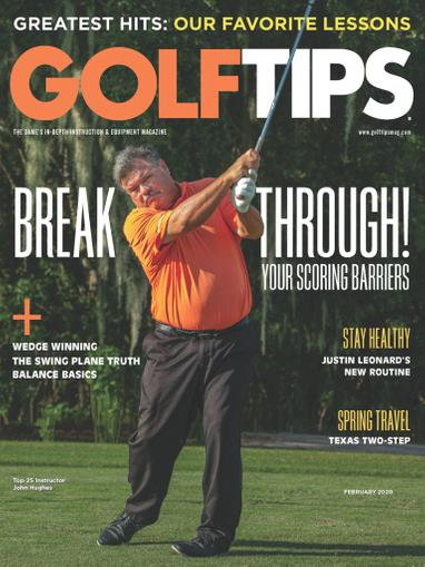 Golf Tips Magazine Cover