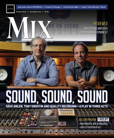 Mix Magazine Cover