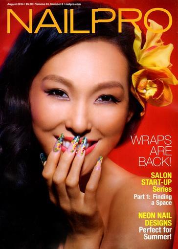 Nailpro Magazine Cover