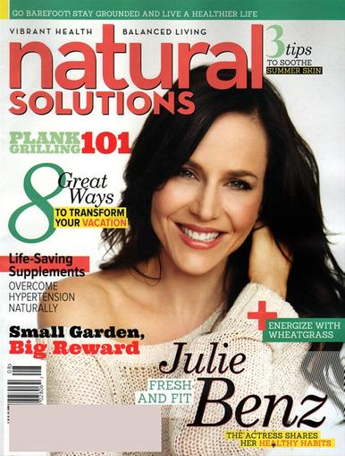 Natural Solutions Magazine Cover