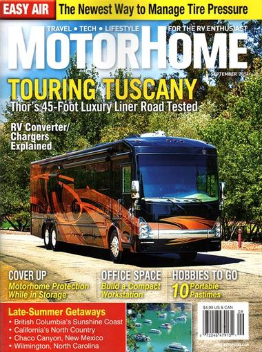 Motor Home Magazine Cover
