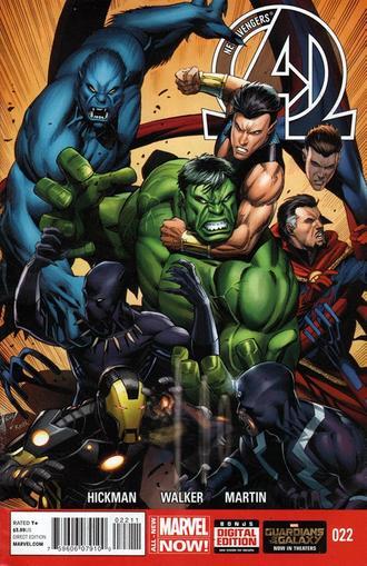 New Avengers Magazine Cover
