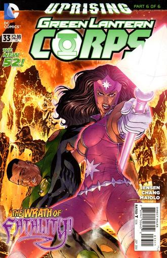Green Lantern Corps Magazine Cover