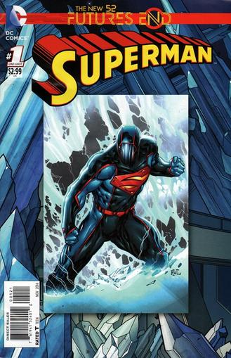 Superman Magazine Cover