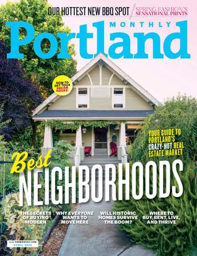 Portland Monthly Magazine Cover