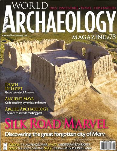 Current World Archaeology Magazine Cover
