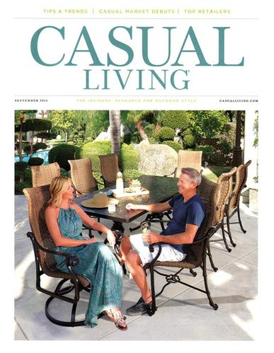 Casual Living Magazine Cover