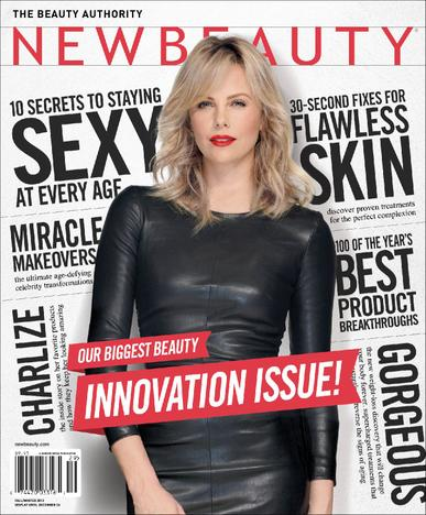NewBeauty Magazine Cover
