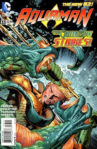Aquaman Magazine Cover