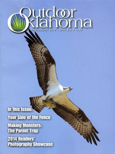 Outdoor Oklahoma Magazine Cover