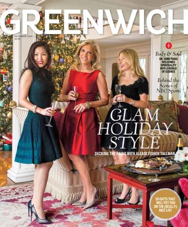 Greenwich Magazine December 1st, 2016 Issue Cover