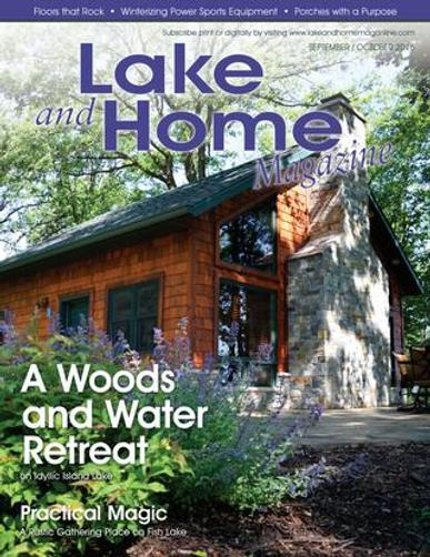 Lake And Home Magazine Cover
