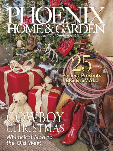 Phoenix Home & Garden Magazine Cover