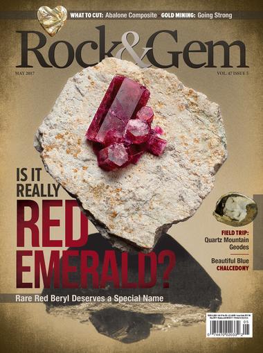 Rock & Gem Magazine Cover