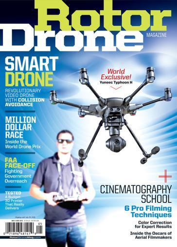 Rotor Drone Magazine Cover