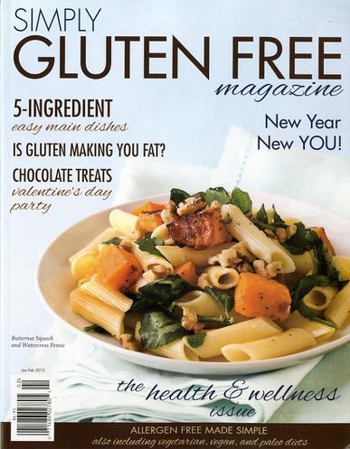 Simply Gluten Free Magazine Cover