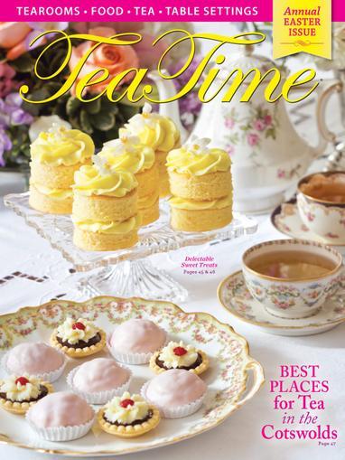Tea Time Magazine Cover