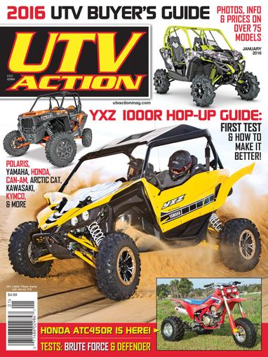 UTV Action Magazine Cover